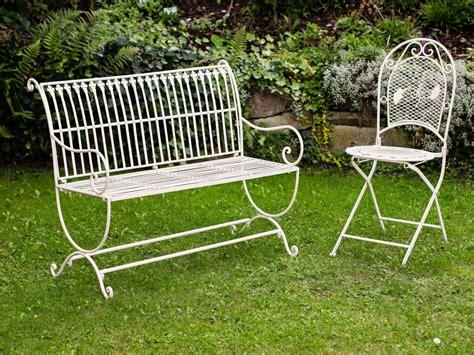 white wrought iron garden bench vintage style garden bench fleur de lis design wrought