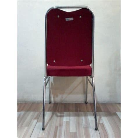 Harga Furniture Matrix kursi susun matrix warna merah tak belakang