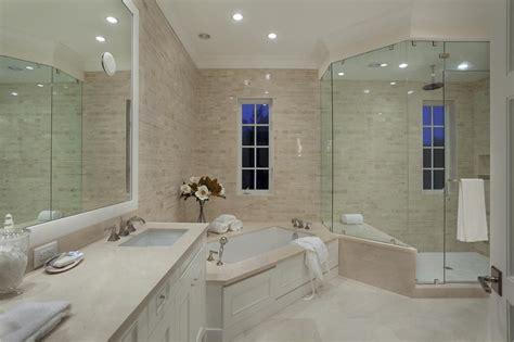 contemporary master bathroom with rain shower daltile contemporary master bathroom with specialty door