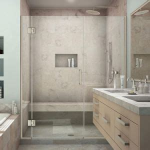 china custom design frameless shower screen shower door