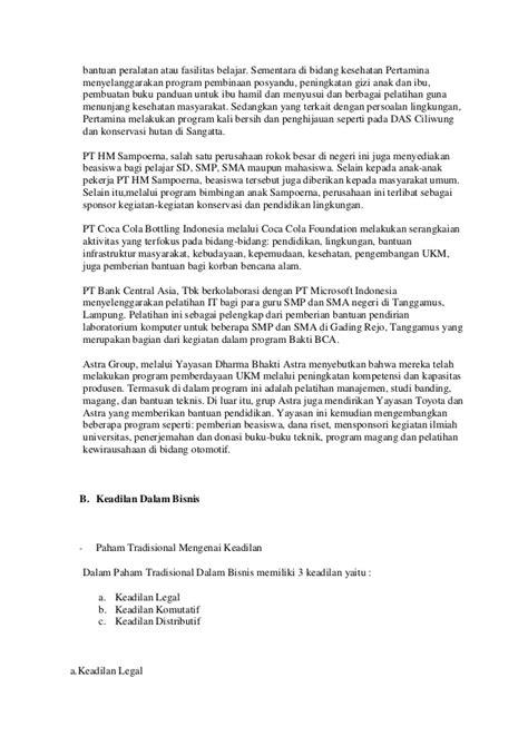 Buku Aspek Bisnis Dan Wirausaha Di Rumah Sakit tanggung jawab sosial perusahaan dan keadilan dalam bisnis
