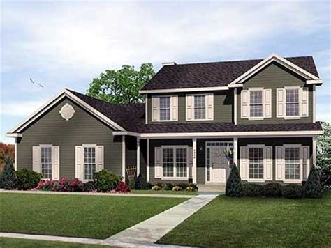 traditional 2 story house plans two story traditional home plan design 2289sl 1st