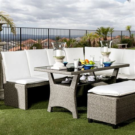 3 patio dining set 59 quot wisheka 3 patio dining set