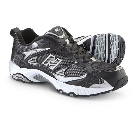 sneakers and athletic shoes s new balance 174 505 cross trainers black 204970