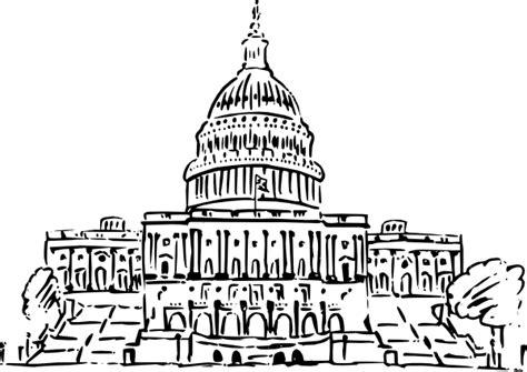 united states capitol building coloring page us capitol building clip art at clker com vector clip
