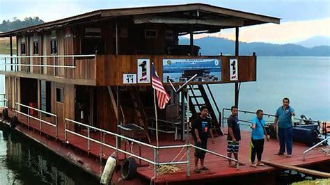 tasik kenyir boat house trip riadah tasik kenyir 21 24 mac 2016 youtube