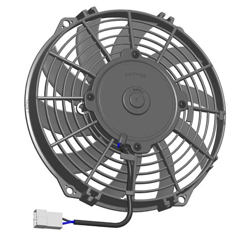 spal 14 electric fan spal universal 12v suction radiator fan 305mm 12