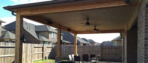 Pros & Cons of Wood Framed Patio Covers   Houston TX