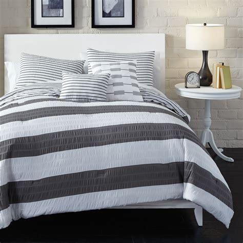 stripe comforter metaphor metaphor 5 piece wide stripe comforter set home