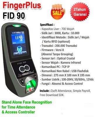 Fingerplus Fid 90 by Mesin Absen Wajah