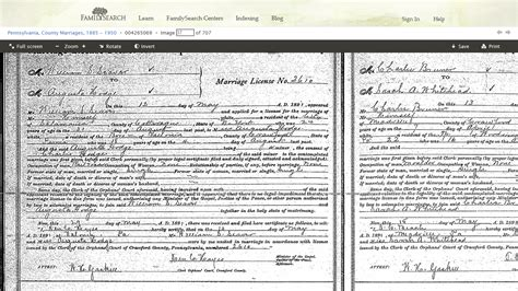 Pennsylvania Birth Records Search Genea Musings Pennsylvania Marriages 1885 1950 On