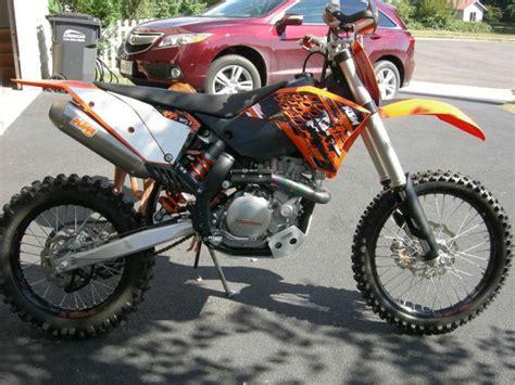 New Ktm Dirt Bikes For Sale Ktm 2009 Xc F Dirt Bike Like New For Sale On 2040motos