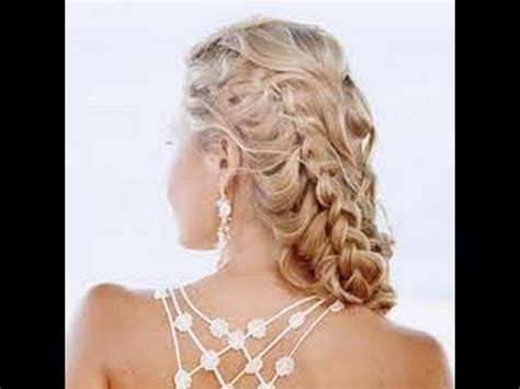 prom hairstyles side curls with braid prom how to hair french braid curly low pony tail
