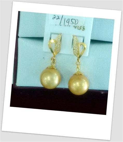 Trending Earrings Anting Anting Perhiasan anting mutiara emas 0035 harga mutiara lombok perhiasan toko emas terpercaya jual