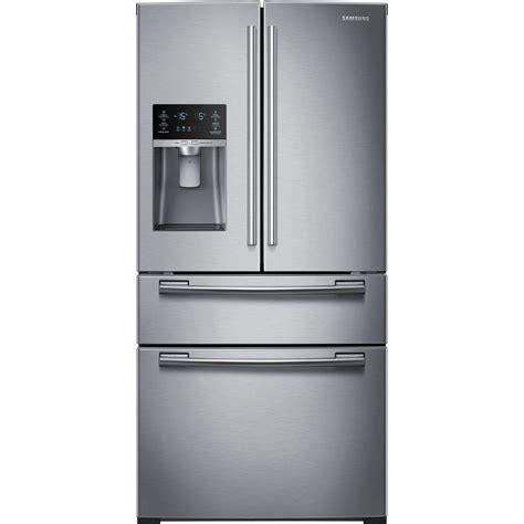 samsung refrigerator reviews samsung 33 in w 24 73 cu ft 4 door door refrigerator in stainless steel rf25hmedbsr