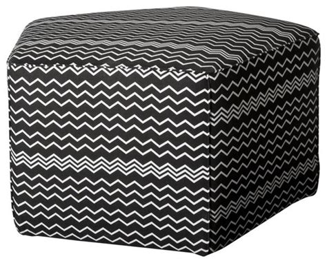 target ottomans and poufs missoni fabric pentagonal pouf contemporary floor