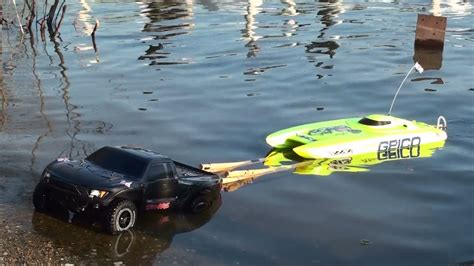 rc boat trailer for traxxas blast rc traxxas launch speed boat icons 2014 youtube