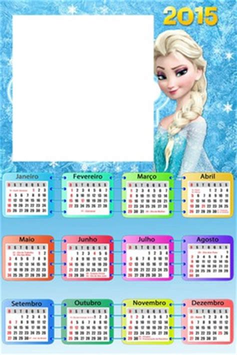 Pelicula Calendario 2012 Fotomontagem Frozen Calendario Pixiz