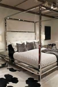 Canopy Bed With Mirrors On Top For Sale Beds Headboards Bernhardt Magdalena Bed I Horchow