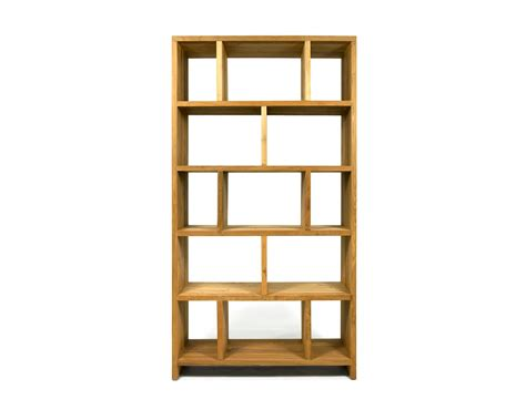 prefab bookshelves reclaimed teak bookcase contemporary wooden shelving