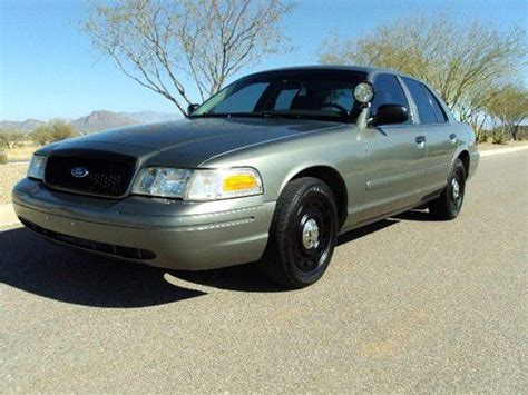 sell   ford crown vic p police interceptor  tucson arizona united states