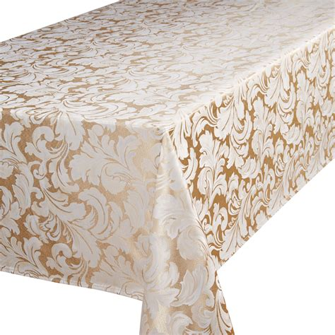 rideau luxe nappe jacquard linge table serviette set table