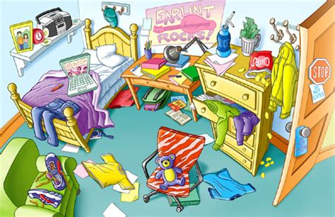messy bedroom game free 2 play online at pacogames net teaching organization and responsibility with pigsty
