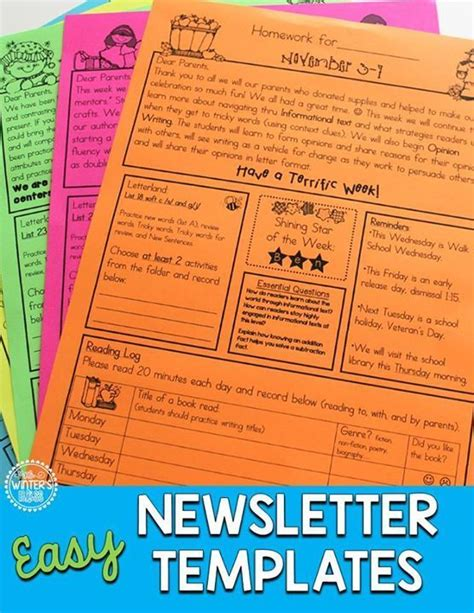 College Newsletter Names 66544 best second grade images on school