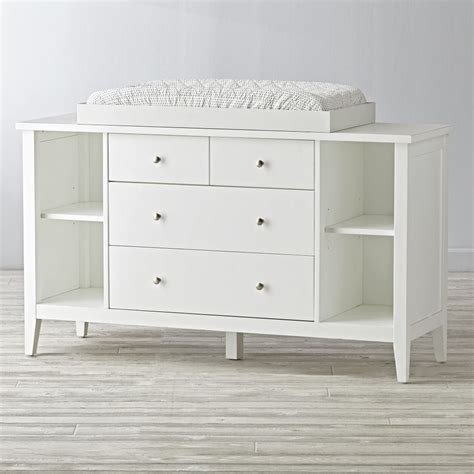 White Dresser And Changing Table by 2 2 Drawer White Changing Table The Land Of Nod