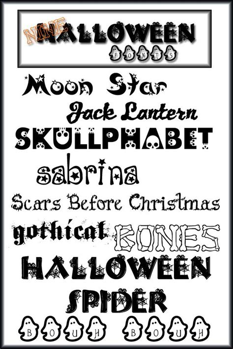 printable font viewer 42 best images about halloween fonts on pinterest free