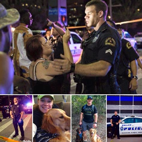 Dallas Officer by Dallas Officer Writes Open Letter To Seahawk