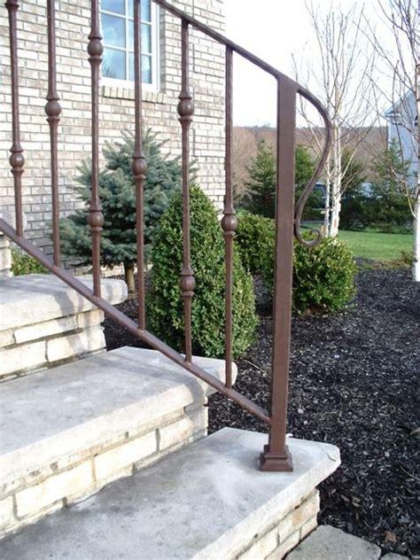 Decorative Handrails Best 25 Iron Handrails Ideas On Railing