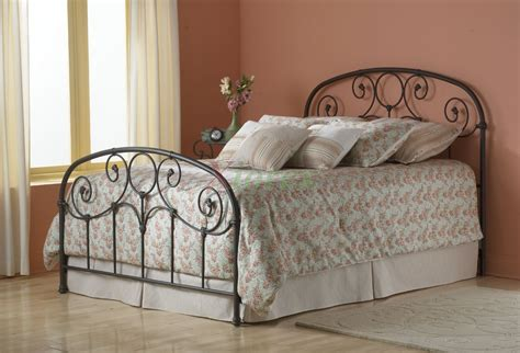 fashion bedding grafton bed heavy tubing metal bed in rusty gold fashion bed group