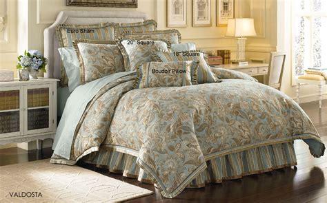 White Bedding Set Valdosta Aqua By J Queen New York Beddingsuperstore Com