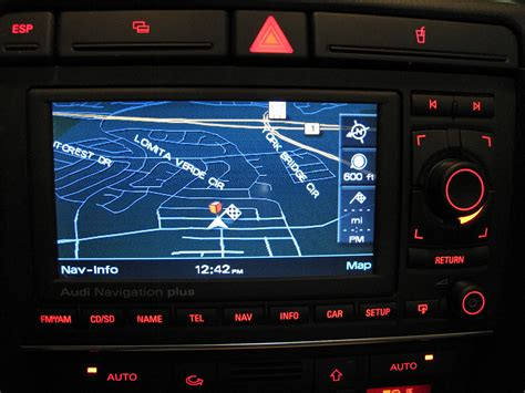Navigation Plus Audi by Audi A4 Audi Navigation Plus Rns E Unit 8e0 035 192 F For