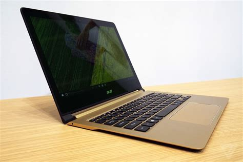 Laptop Acer Slim Agustus acer s 7 is the laptop thinner than a