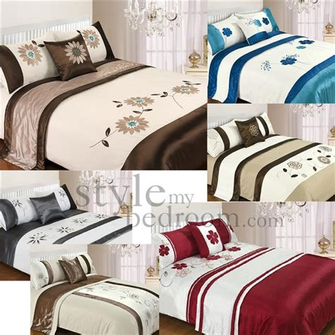 king size bed in a bag 5 piece bed in a bag bedding duvet quilt cover set double king size