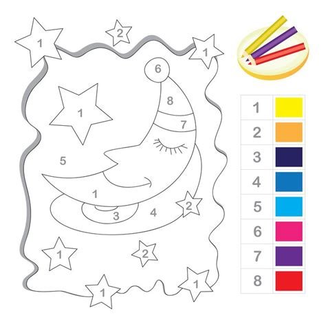 number the stars coloring page 293 best images about coloring pages on pinterest