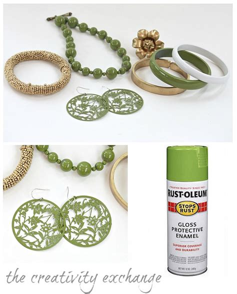 spray paint jewelry diy transform junk jewelry with spray enamel tip junkie