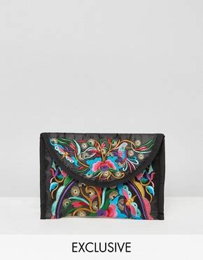 Asos Vintage Style Scarf Clutch 2 by Festival Fashion Festival Clothing Vintage Style Asos