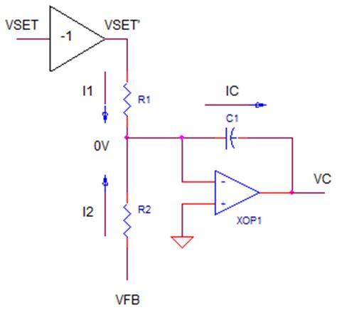 summing integrator circuit op part 2