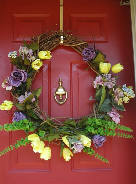 door decorations for spring spring door decoration