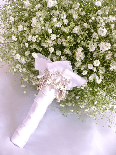 Wedding Bouquet Baby S Breath by Babys Breath Bouquet Bindin Wedding Blossoms