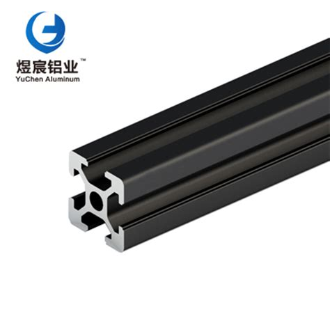 black oxidation black oxidation aluminum profile 2020 aluminium alloy