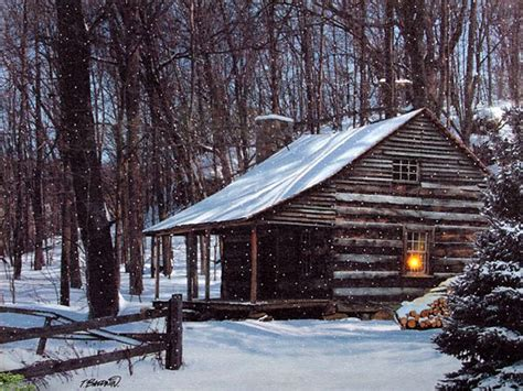 White Barn Candle Winter Cabin by Check Out The Deal On Lighted Snow Capped Cabin Lighted