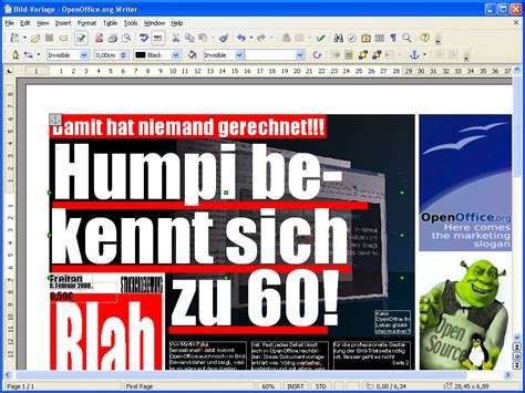 layout word zeitung openoffice vorlage bild layout download chip