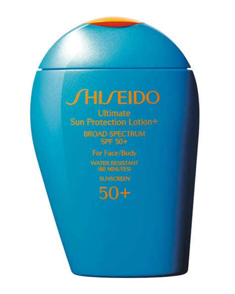 Shiseido Ultimate Sun Protection Lotion shiseido ultimate sun protection lotion spf 50