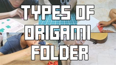 How Many Types Of Origami Are There - 5 different types of origami folder