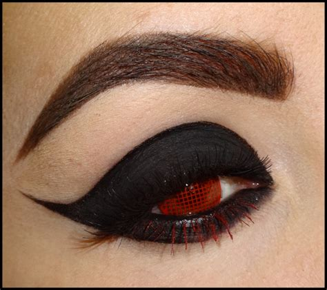 halloween red contact lenses red mesh contact lenses camoeyes com