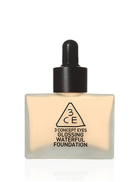 3ce Glossing Waterfull Foundation buy 3ce glossing waterful foundation 40g sephora australia